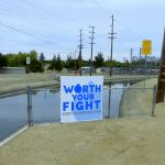 "​Though there's no truth to the rumor people have been painting it brown, the water drop on the ""Worth your Fight"" sign produced by the Turlock and Modesto Irrigation Districts […]"