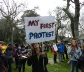 New York, Washington D.C., Sacramento—we might have expected large crowds in those cities when women across the nation decided to march against the ugliness called forth by Donald Trump in […]