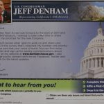 Dear Congressman Denham: I received your questionnaire. Thank you for the opportunity to share my views on issues critical to our quality of life here in the San Joaquin Valley. […]