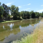 Tuolumne River, drying up near Modesto