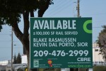 Available: 100,000 square feet, Finch Road Modesto