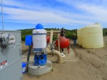 Pumping Groundwater in Eastern Stanislaus County