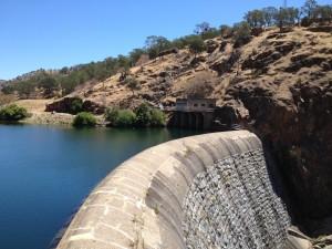 La Grange Dam by Peter Drekmeier
