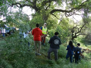 John Gunderson and Student Volunteers 21 March 2015