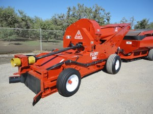 Flory Low Dust Harvester