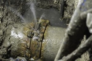 Leaky pipes waste water