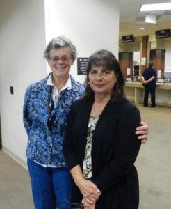 Gail Altieri and Linda Santos