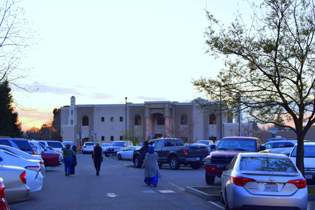 Approaching the Islamic Center