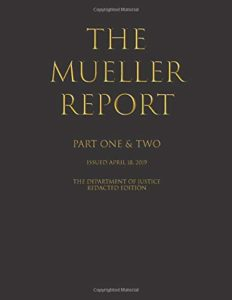 The Muller Report cover