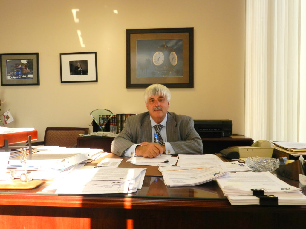 Supervisor DeMartini at Work