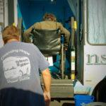 Alan Davis at Cleansing Hope Shower Shuttle