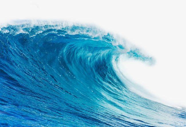 A blue wave