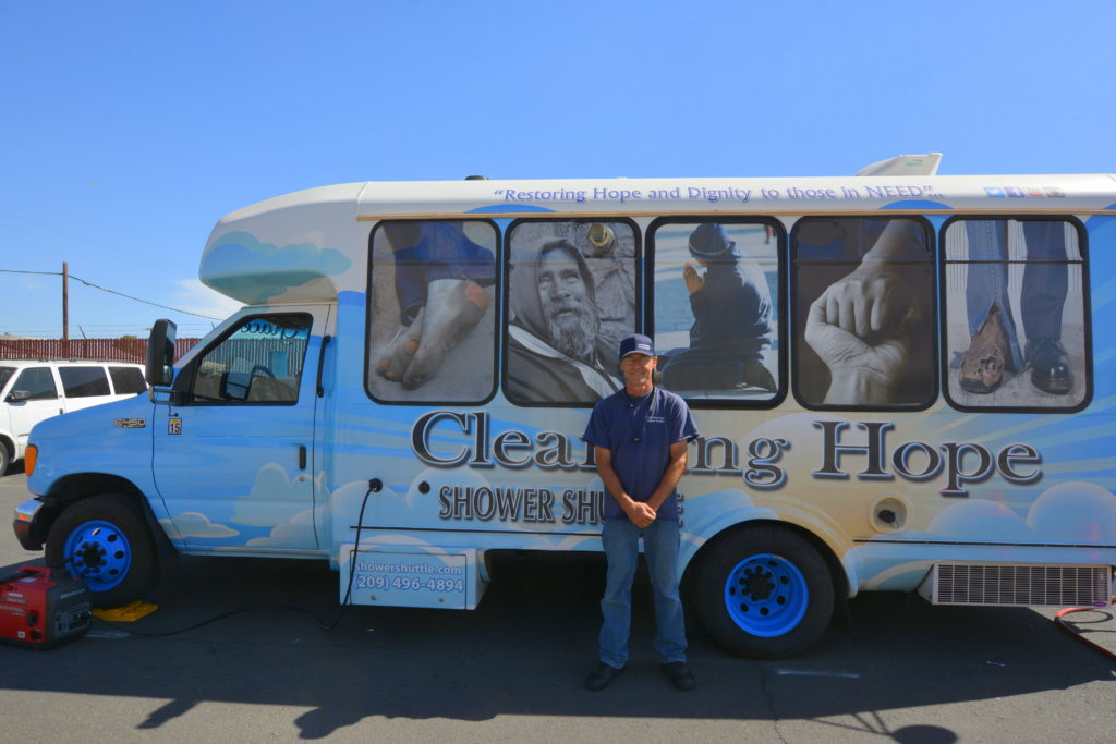 Cleansing Hope Shower Shuttle