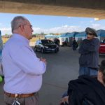 Doug Ridenour at Modesto Outdoor Emergency Shelter