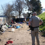 CHP at 9th Street camp Bystrum