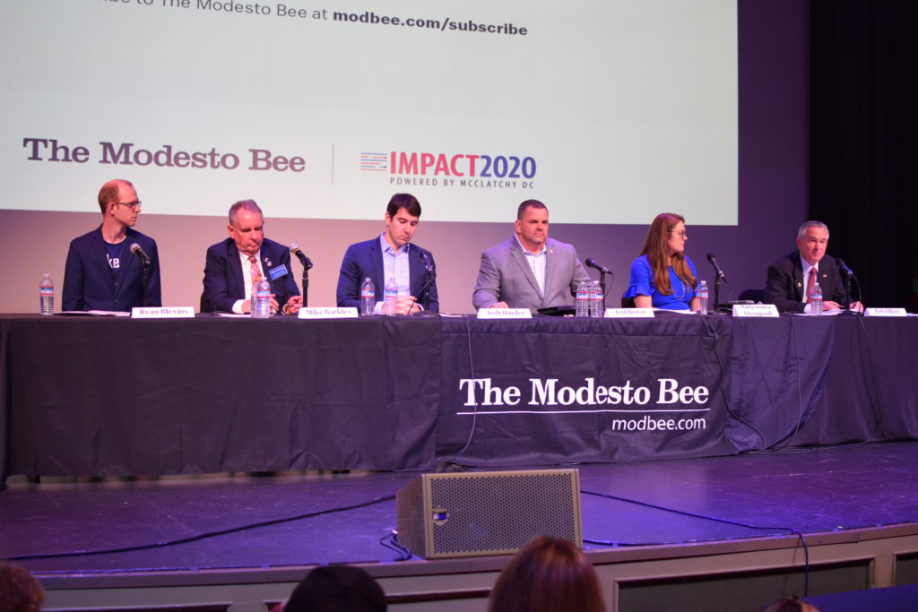 Debate, State Theater, Modesto, January 2020