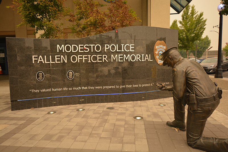 Modesto Police Department 20 August 2020