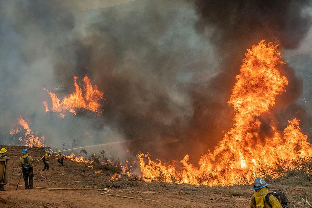 Moc Fire 2020 by Al Golub Photography