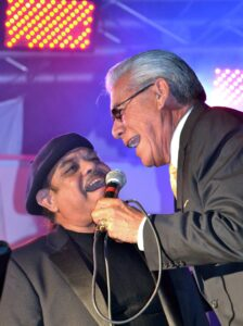 Johnny Hernandez with Ruben Ramos