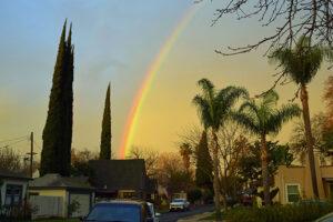 Rainbow Modesto Feb 2, 2021