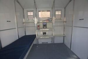 Pallet Shelter interior