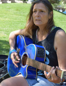 Mary Baca in Graceada Park 2016