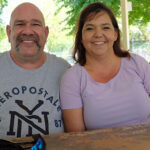 Charles and Deanna Farish at Graceada Park April 2021