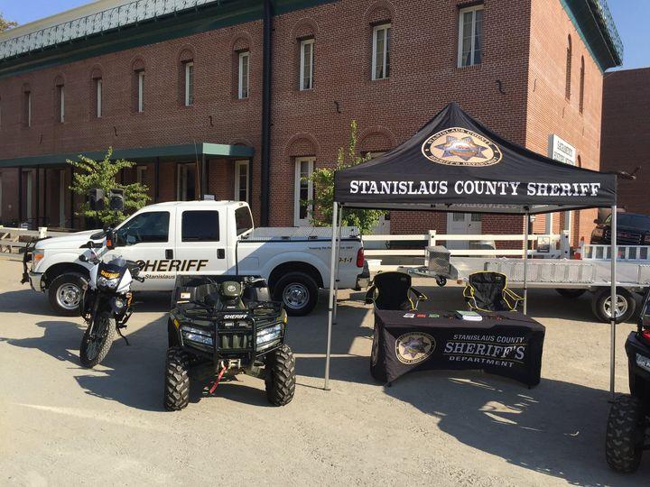 Stanislaus County Sheriff's vehicles